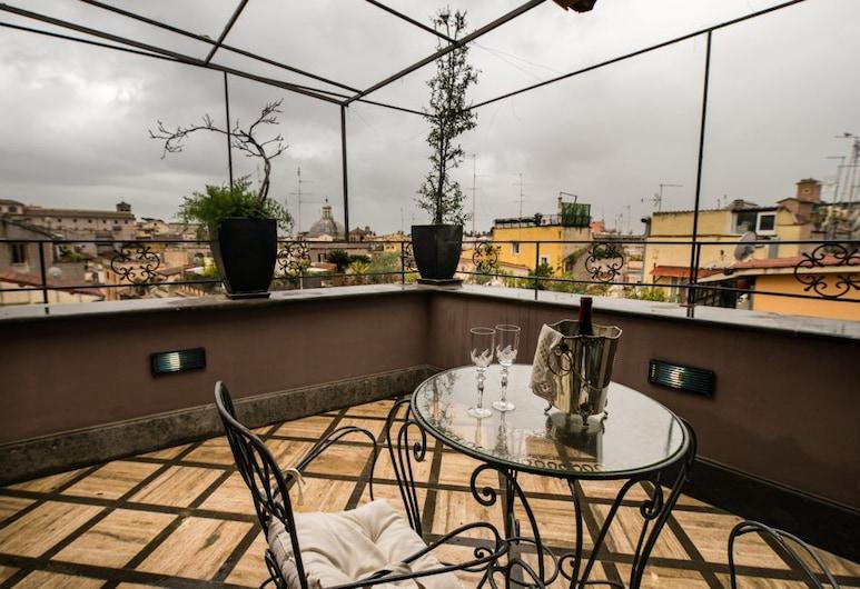 科沃酒店, 羅馬, 四人房, 陽台