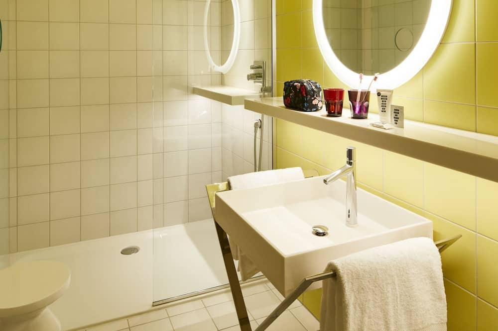 Tweepersoonskamer, 1 queensize bed (Large Mama) - Badkamer