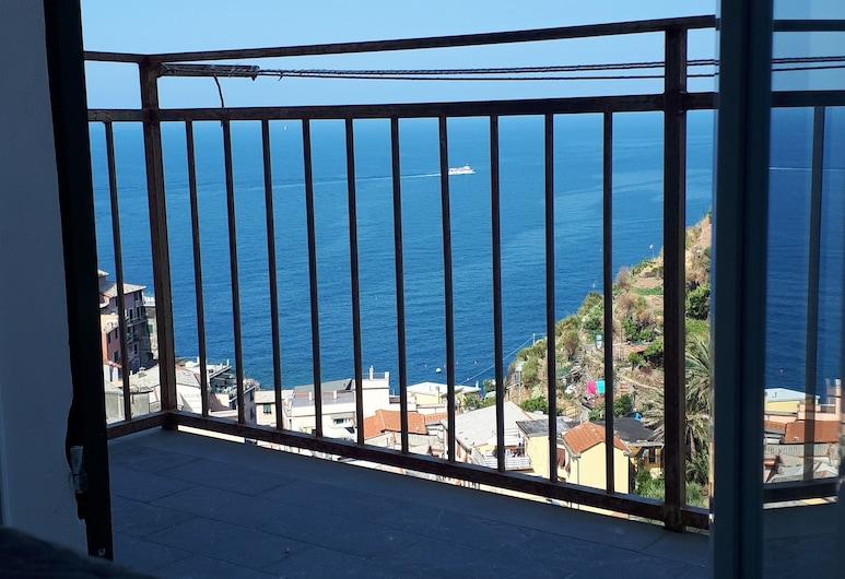 Olimpo Affittacamere, Riomaggiore, Deluxe Double Room, Balcony, Sea View, Balcony
