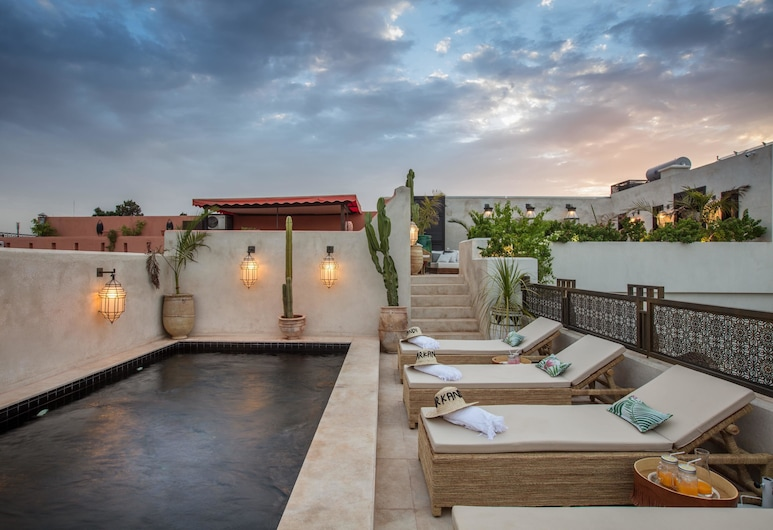 達爾康迪飯店, 馬拉喀什, 室外游泳池