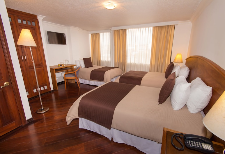 Hotel Tourblanche, Quito, Comfort Triple Room, Non Smoking, Guest Room