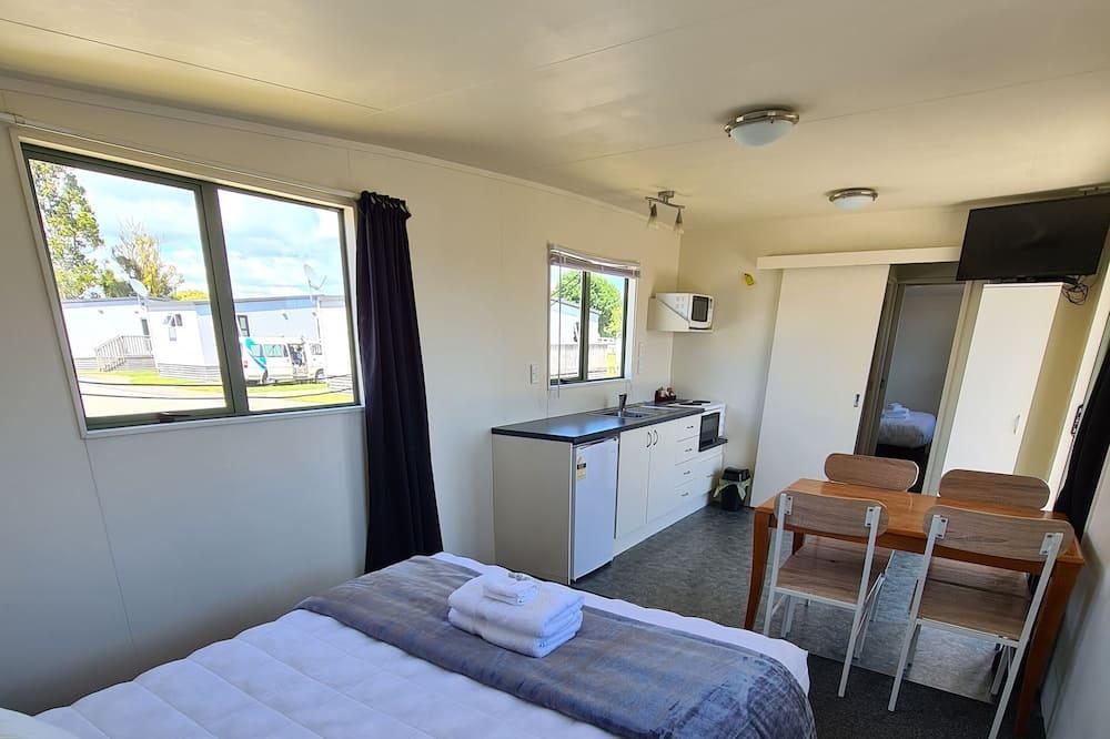 Hytte – traditional, flere senger, ikke-røyk, privat bad - Oppholdsområde