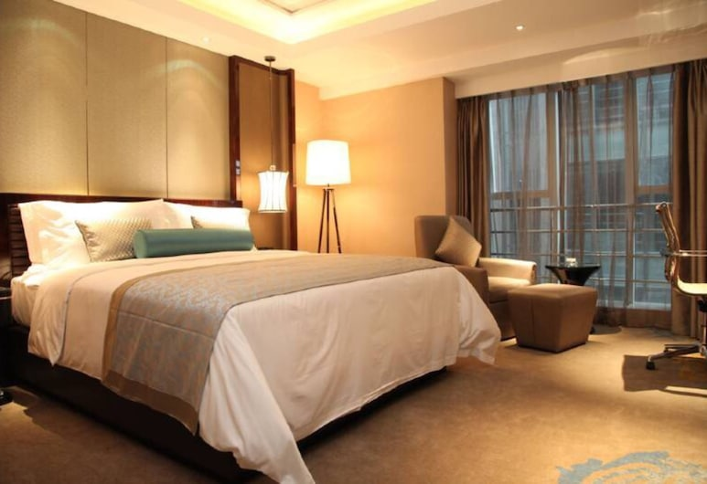 TOTEM ELEGANT HOTELS, Chengdu, Deluxe-Doppelzimmer, Zimmer