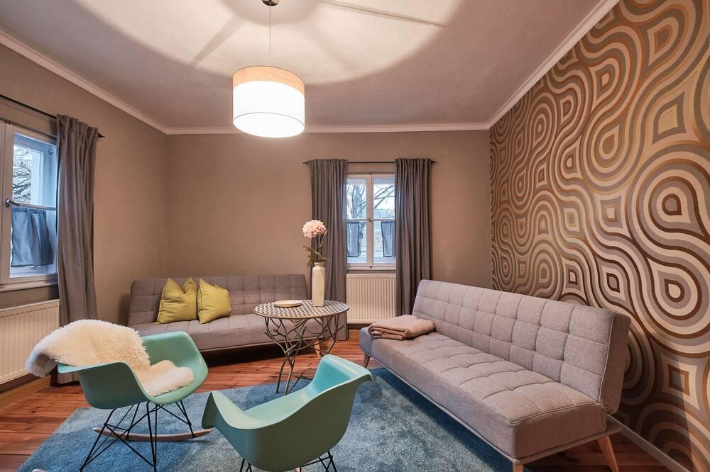 Design Apartment, Non Smoking, Kitchen - Living Area