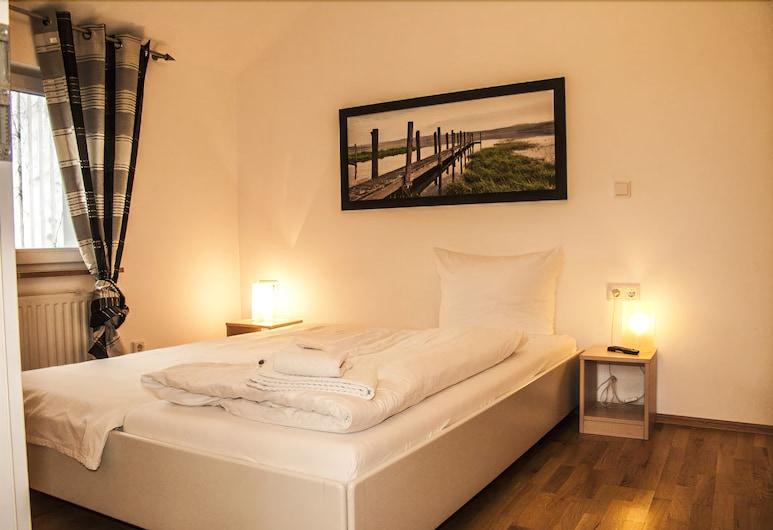 Hotel Messeschlaf, Düsseldorf, חדר זוגי, חדר אורחים