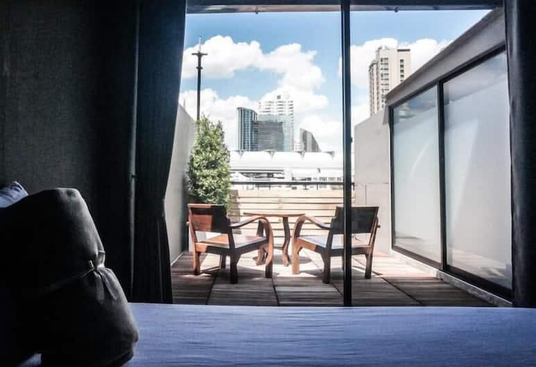Yaksa Private, Bankokas, Trivietis kambarys, 3 viengulės lovos, Svečių kambarys