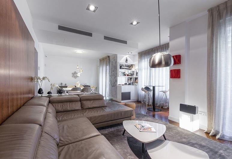 Nuñez de Balboa Apartment by FlatSweetHome, Madrid, Apartamento, 3 Quartos, Varanda, Sala de Estar