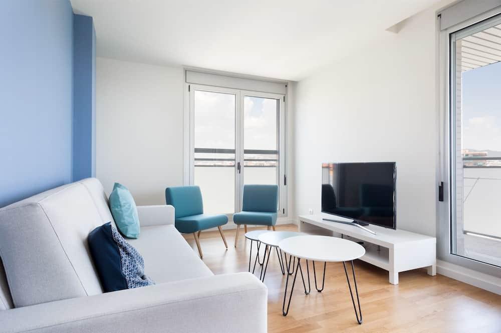 Appartement, 2 chambres, balcon (6.2) - Coin séjour