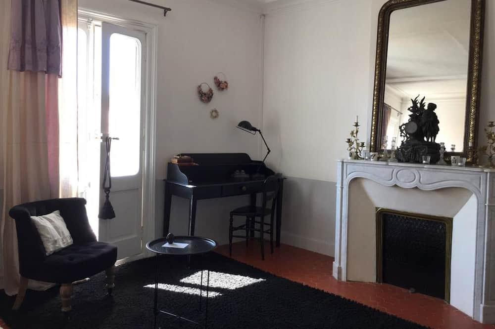 Romantisches Doppelzimmer (La Bourgeoise) - Wohnbereich