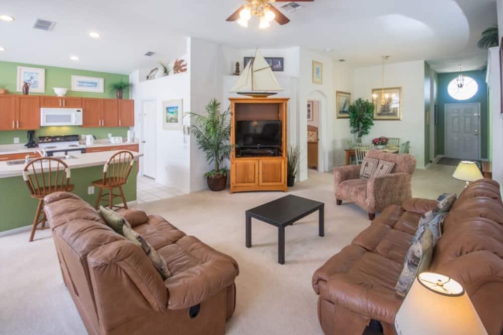 Vila, 4 spálne - Obývačka