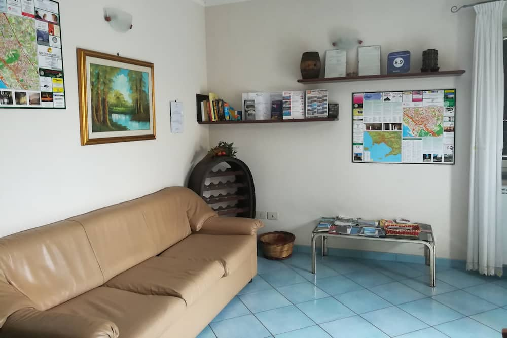 Classic Double Room, Sea View - Living Area