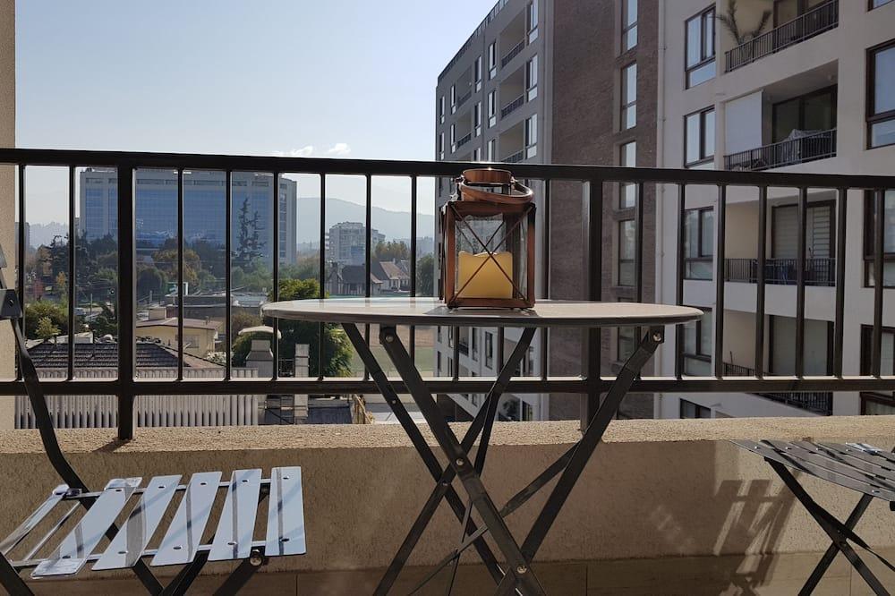 Familie appartement, 1 queensize bed met slaapbank, niet-roken - Terras