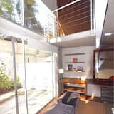 Loft Deluks, 1 Tempat Tidur King dengan tempat tidur Sofa, non-smoking - Area Keluarga