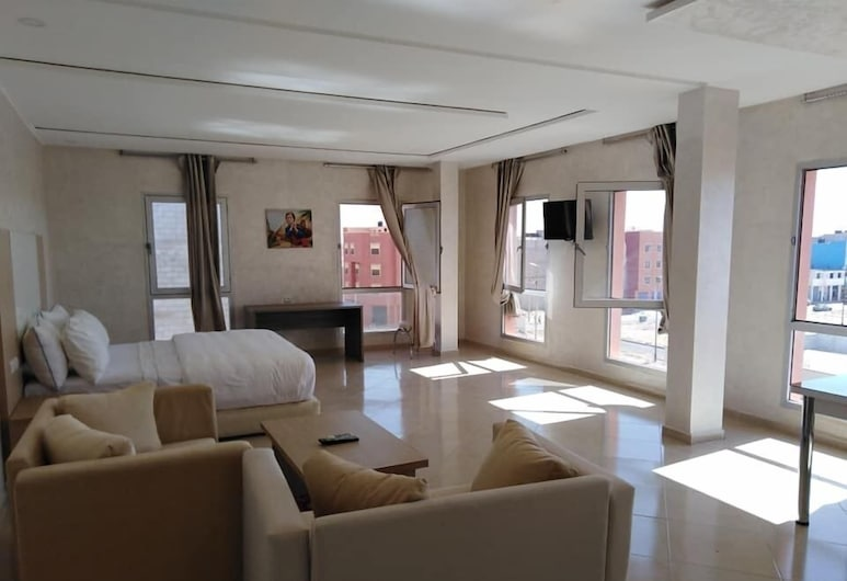 Hotel Laayoune, Laayoune, Standartinio tipo kambarys, vaizdas į miestą, Svečių kambarys