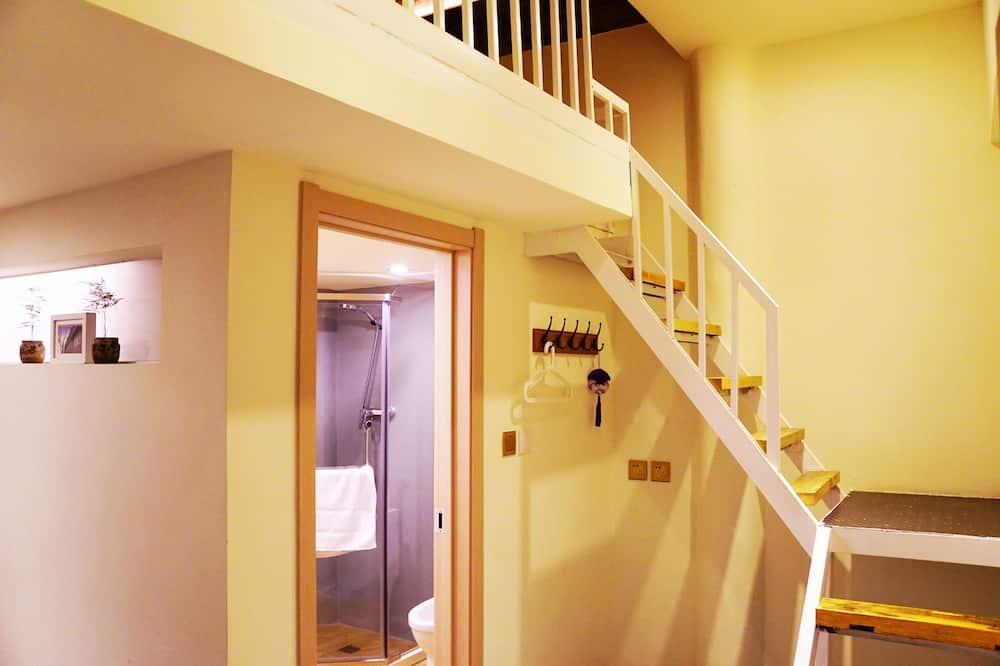 精品閣樓大床間 - 浴室