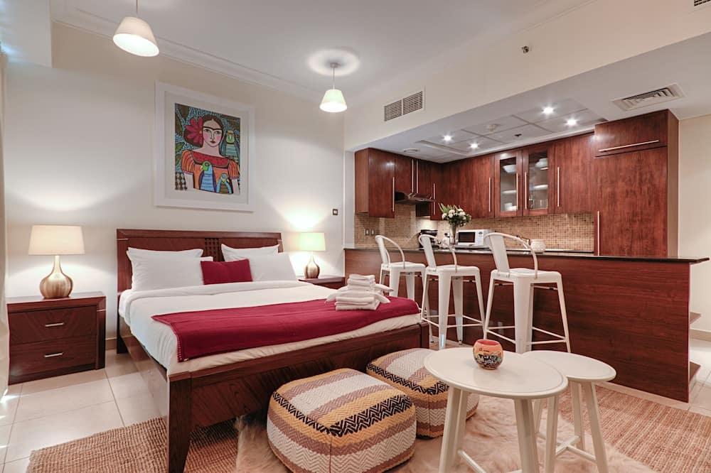 Luxury-Apartment, 1King-Bett, Stadtblick, Executive-Etage - Badezimmer