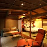 Tradicinio tipo trivietis kambarys (Japanese Style) - Svetainės zona