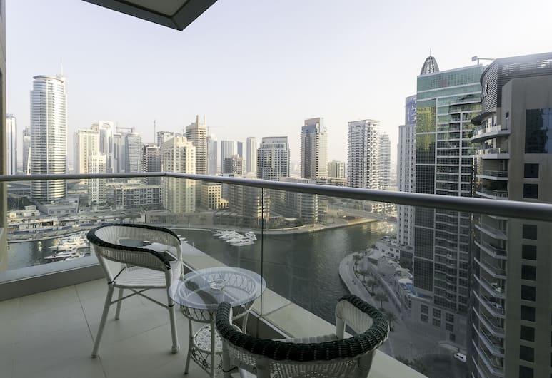 One Perfect Stay - Aurora Tower, Dubajus, Apartamentai, 2 miegamieji, Nerūkantiesiems, Balkonas