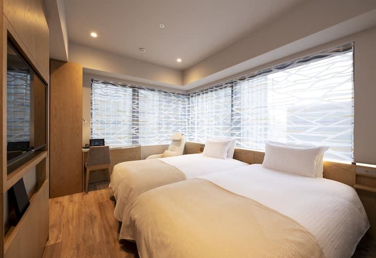 remm Tokyo Kyobashi, Токио, Двухместный номер «Классик» с 2 односпальными кроватями, 2 односпальные кровати, Номер