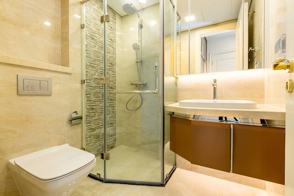 Deluxe-Apartment, 2Schlafzimmer - Badezimmer