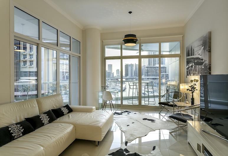 One Perfect Stay - The Atlantic Tower, Dubajus, Apartamentai, 2 miegamieji, Svetainės zona