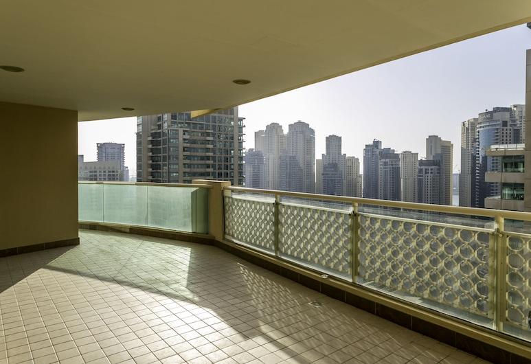 One Perfect Stay - Marina Mansions, Dubai, Lägenhet - 3 sovrum, Balkong