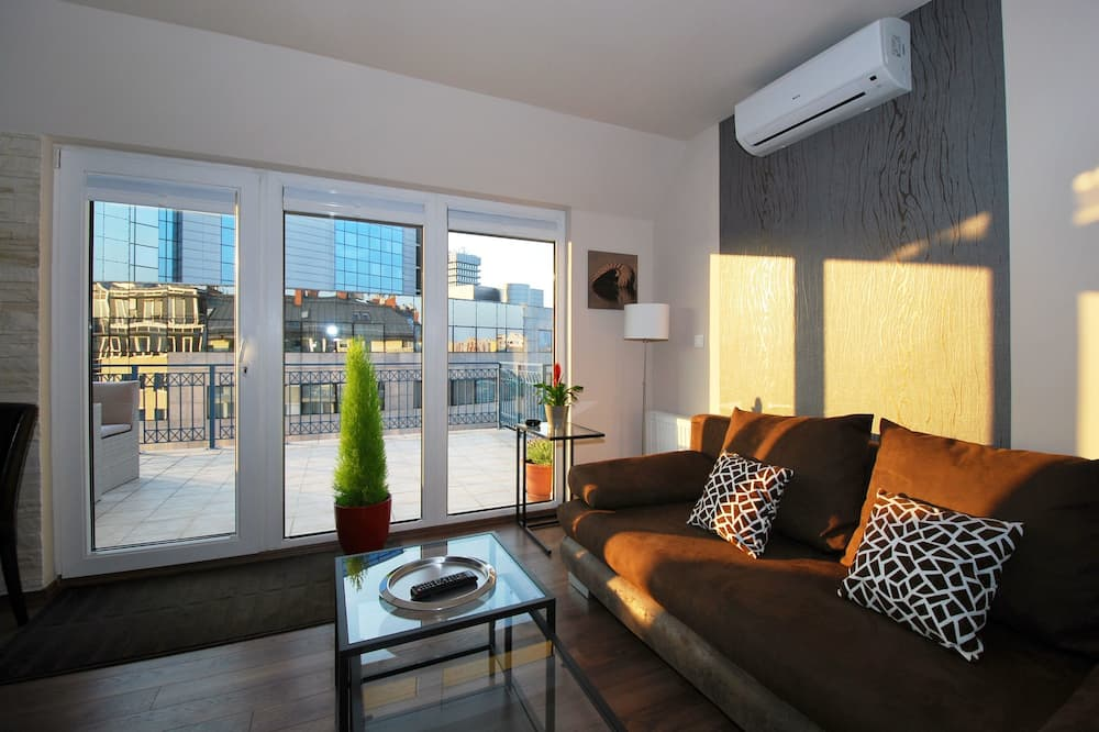 Penthouse Apartment - Stue