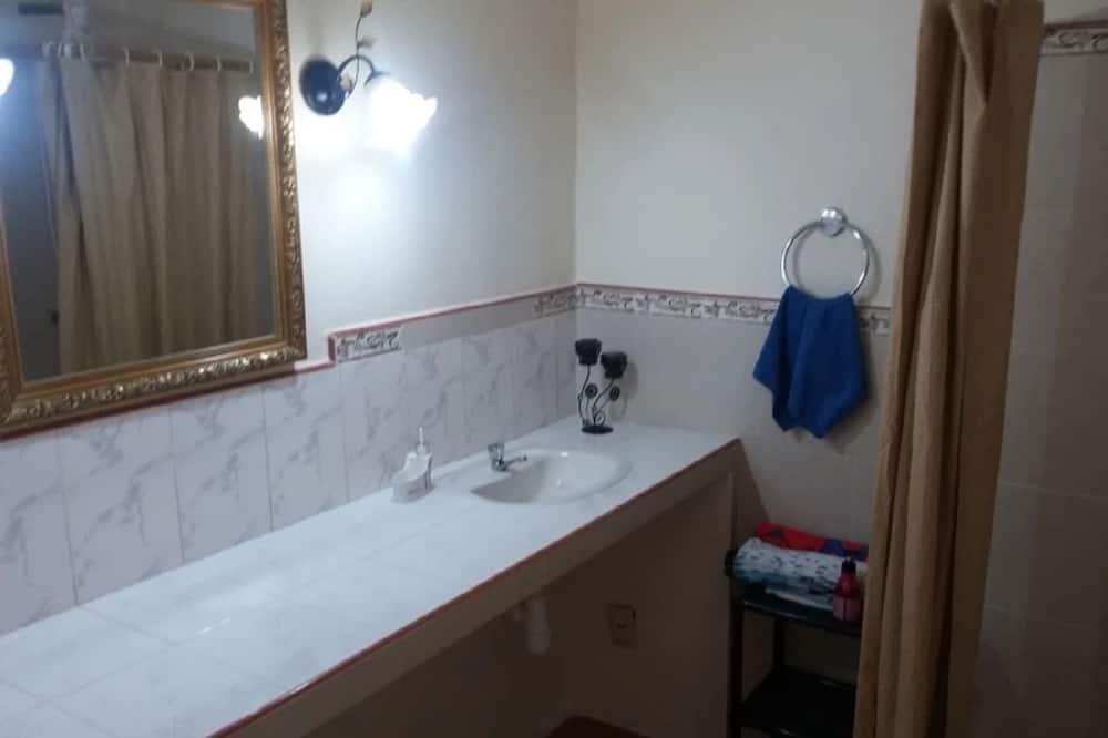 이코노미 트리플룸, 침대(여러 개), 금연 - 욕실