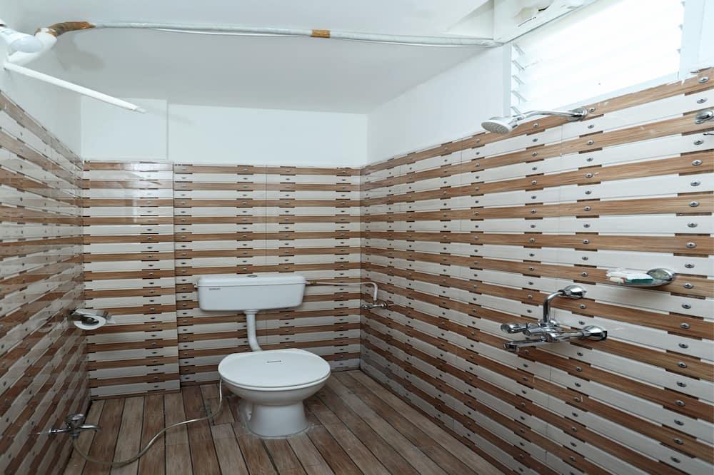 Tweepersoonskamer, 1 tweepersoonsbed - Badkamer