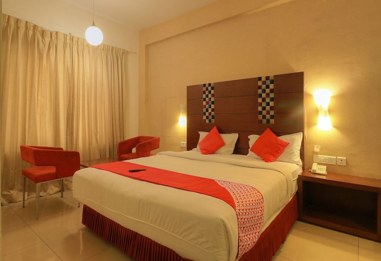 OYO 1531 Vels Grand Inn Hotel, Coimbatore, Double or Twin Room, Guest Room