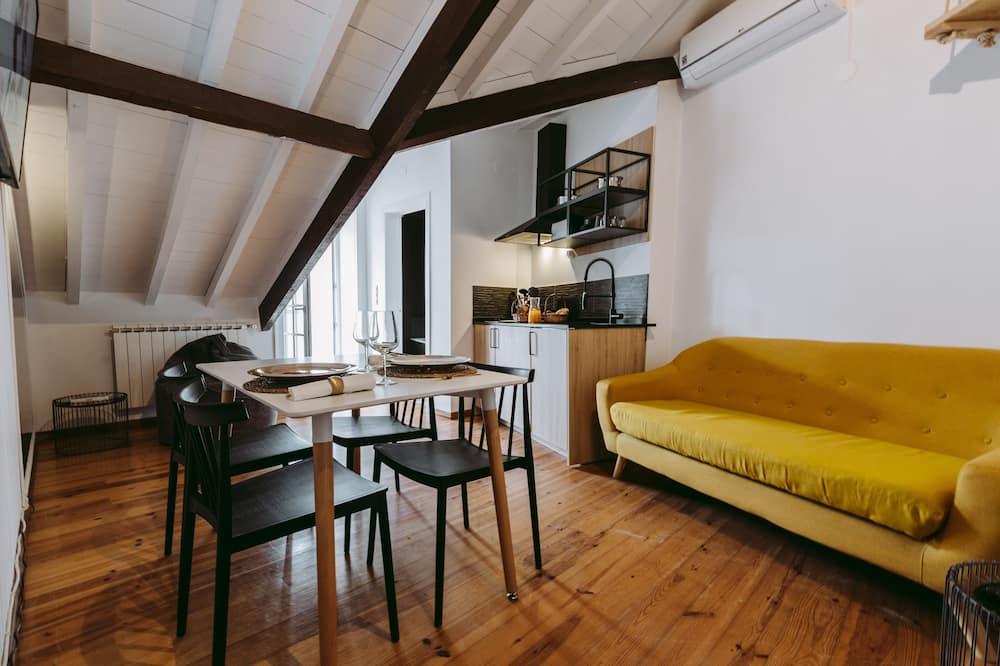 Obiteljski apartman, 2 spavaće sobe - Dnevni boravak