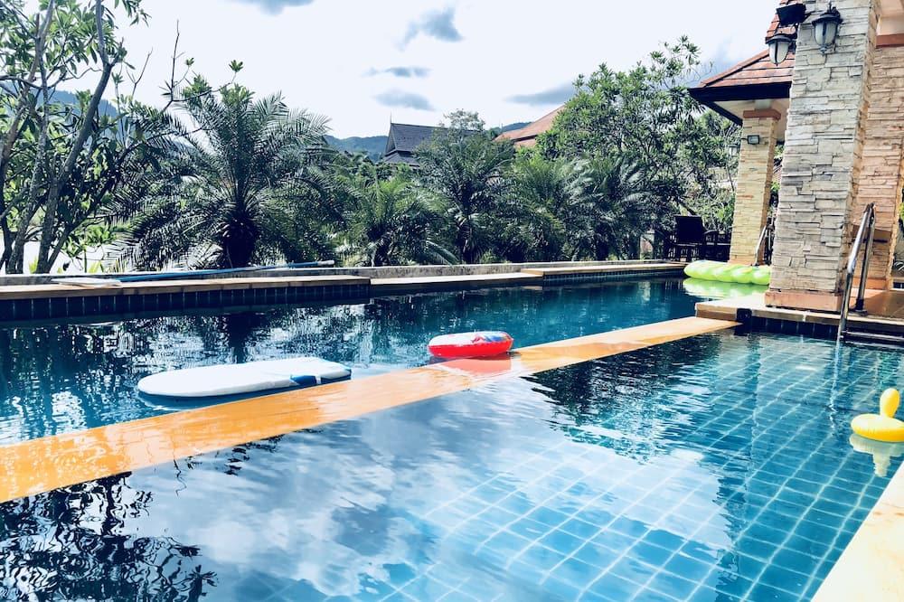4-Bedroom Villa with Private Pool - Teras/Veranda