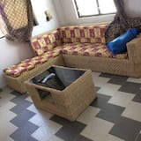 Panoramic Penthouse, 1 Double Bed with Sofa bed, Non Smoking - Living Room