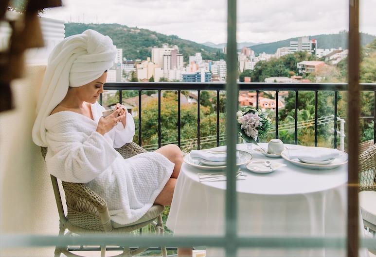 Villa do Vale Boutique Hotel, Blumenau, Comfort-Doppelzimmer, 1King-Bett, Nichtraucher, Zimmer