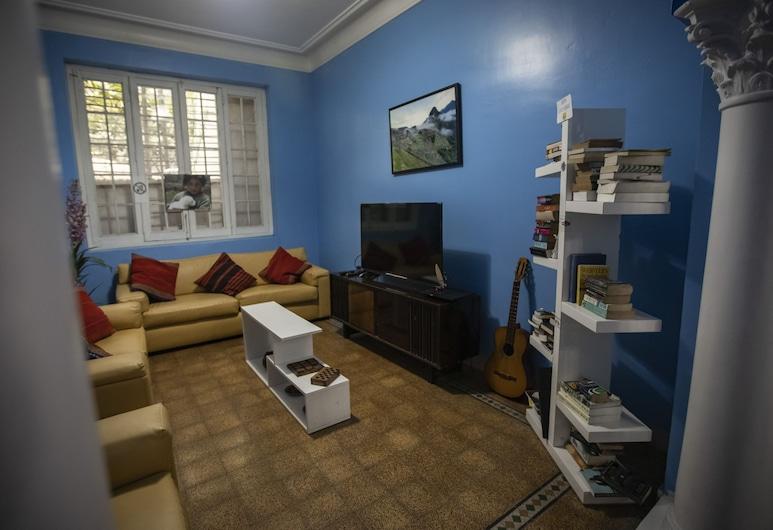 Ecopackers Hostel Lima, Lima, Salle de séjour