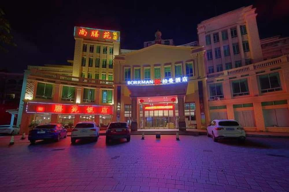 飯店入口 - 夜景
