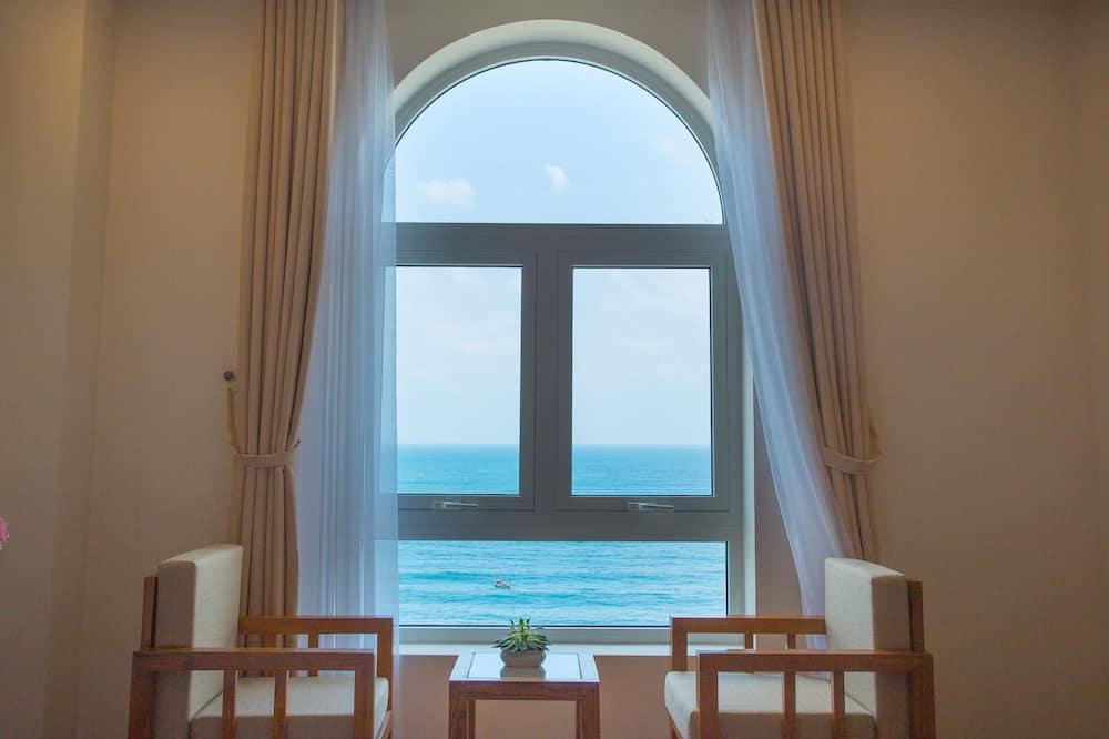 Családi lakosztály, több ágy, kilátással a tengerre, tengerre néző - Parti/óceáni kilátás
