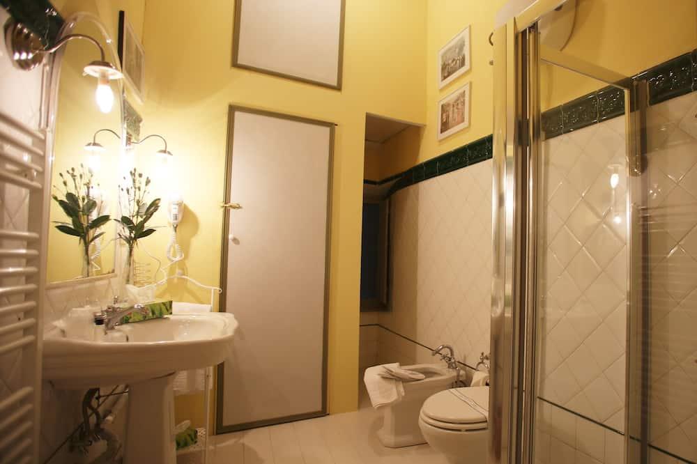 ダブルまたはツインルーム 禁煙 専用バスルーム (not in room) - バスルーム