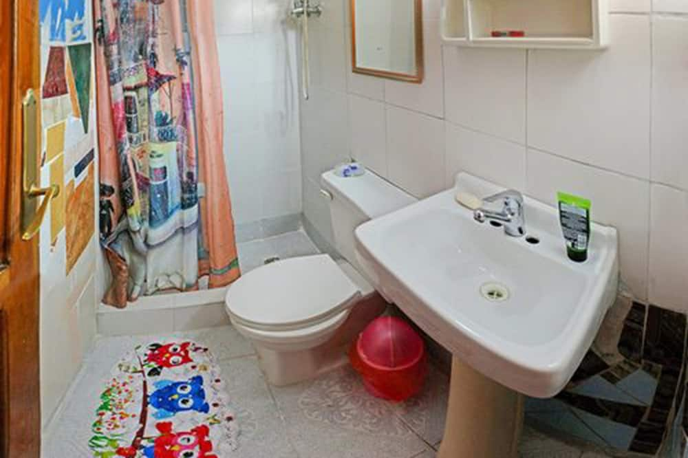 베이직 더블룸, 더블침대 1개, 금연 - 욕실