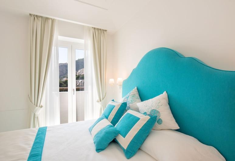 Villa Viviani - Saraceno, Amalfi, Quarto Comfort, 1 cama queen-size, Vista Mar, Quarto