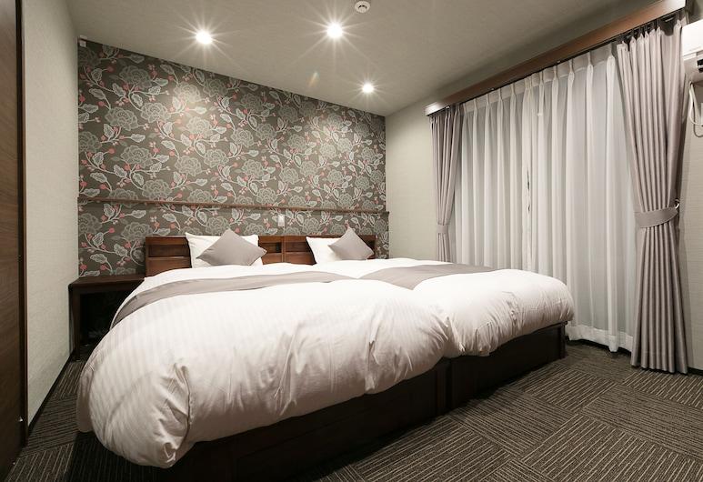 京都四條通烏丸櫻花住宿酒店, Kyoto, 標準雙床房, 客房