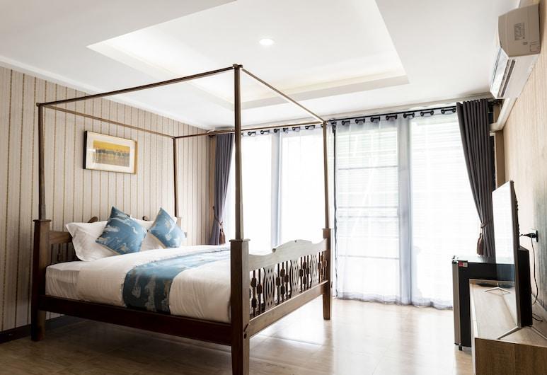 亞拉娜精品旅館, 清邁, Deluxe Double Room With Balcony, 客房