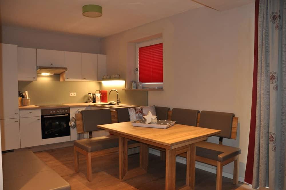 Lejlighed - 3 soveværelser (Appartment Kareck) - Spisning på værelset
