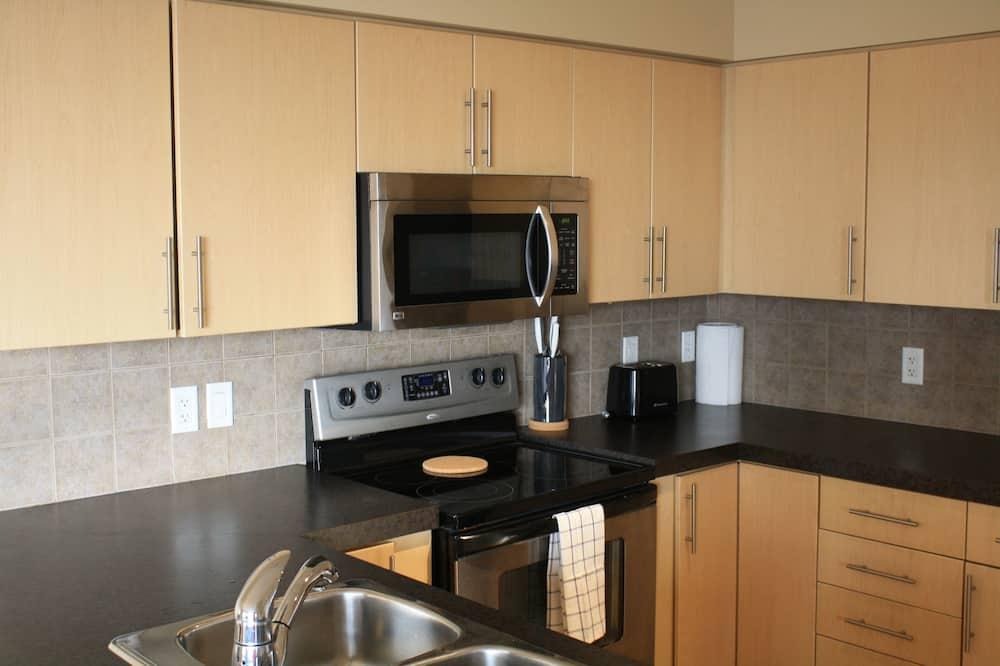 Paaugstināta komforta dzīvokļnumurs, viena guļamistaba - Privāta virtuve