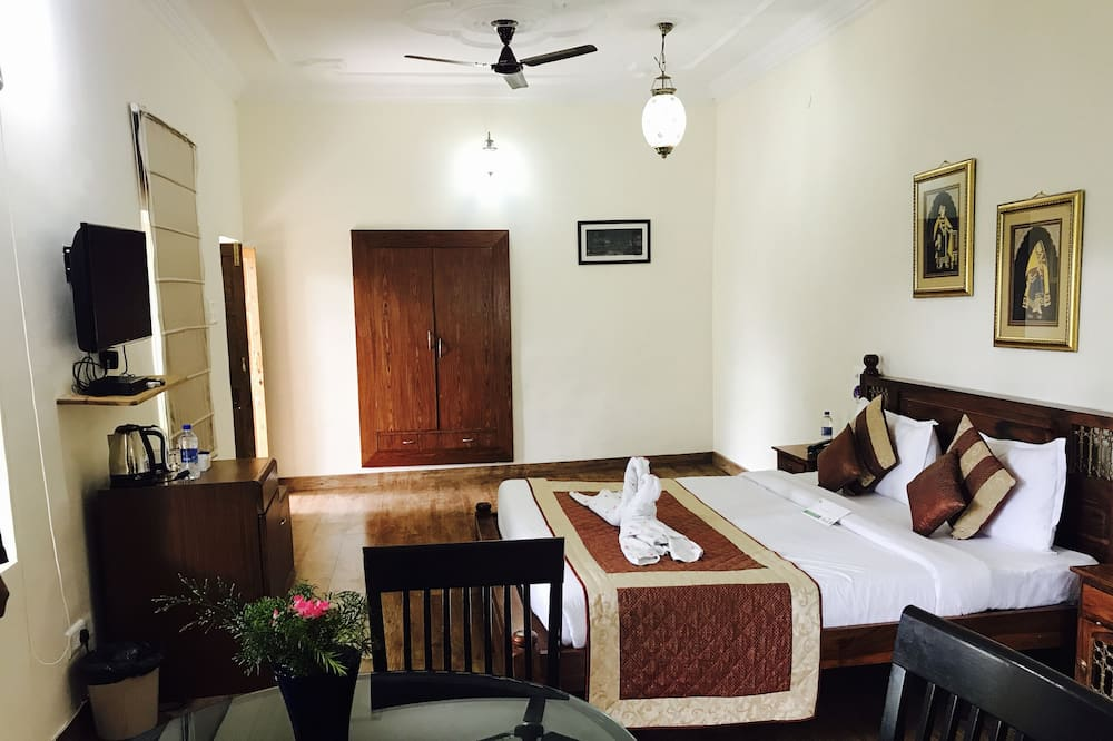 Habitación doble Premium, 1 cama King size, para fumadores - Sala de estar