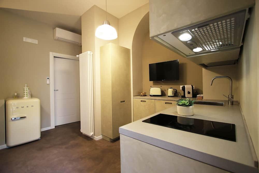 時尚公寓, 1 張加大雙人床, 非吸煙房 - 客廳