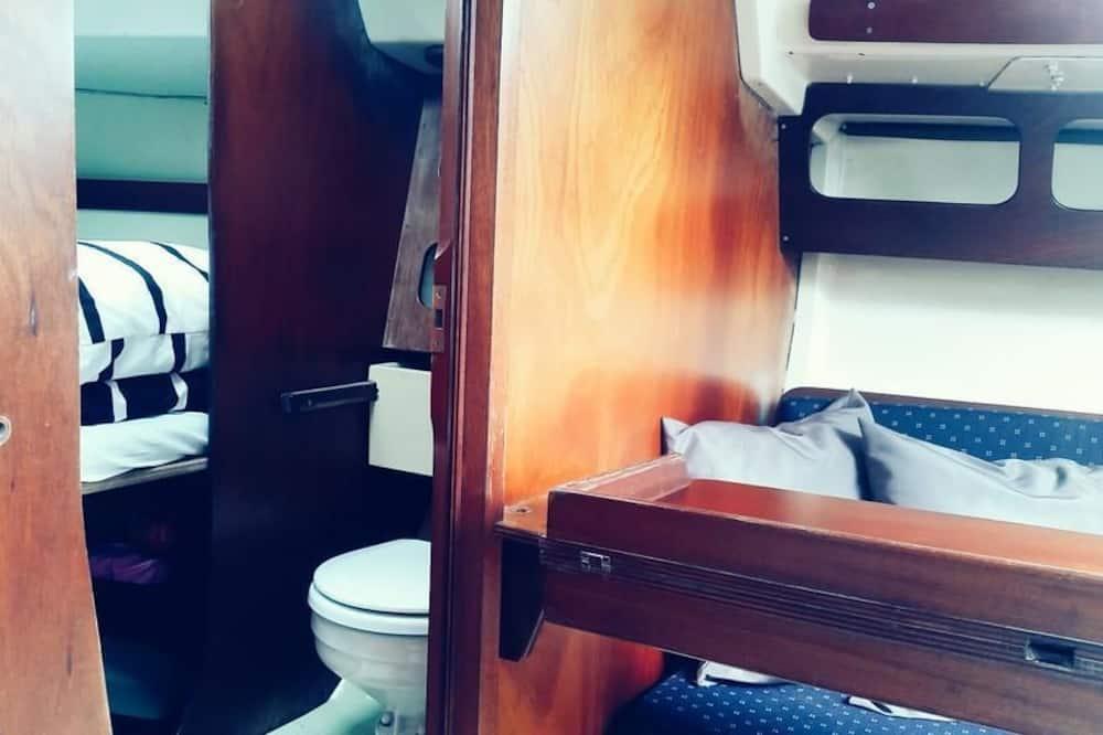 อพาร์ทเมนท์, เตียงใหญ่ 1 เตียง, ปลอดบุหรี่ - ห้องน้ำ