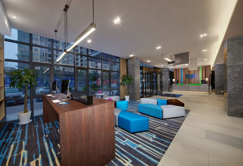Holiday Inn Express Zhangjiagang East, Suzhou, Lobby Sitting Area