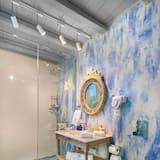 Luxury-Villa, 2Schlafzimmer, Meerblick - Badezimmer