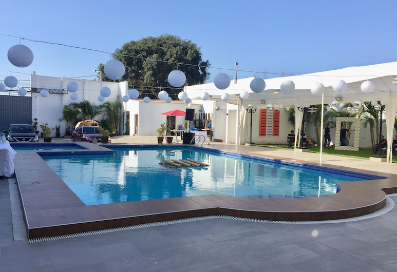 Hotel San Jorge Residencial, Pisco, Εξωτερική πισίνα